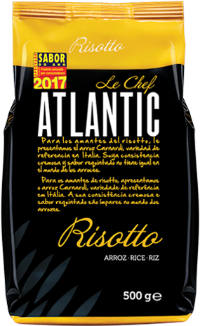 atlantic le chef embalagem risotto
