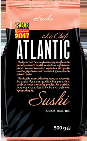 atlantic le chef embalagem sushi
