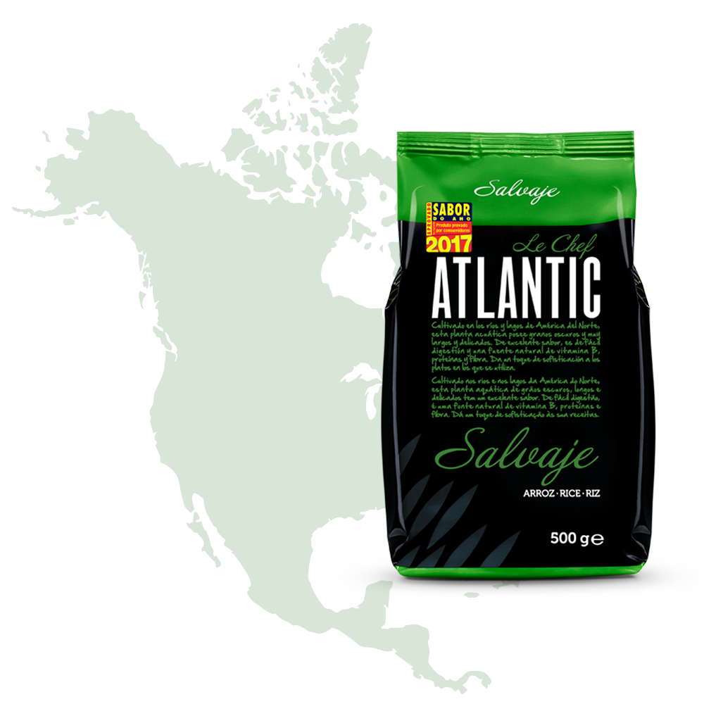 atlantic le chef embalagem selvagem