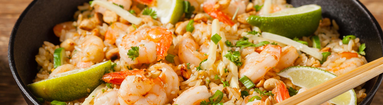 atlantic le cehf arroz de camarão à tailandesa