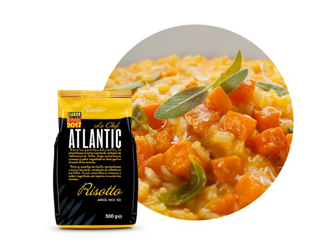 atlantic le chef receita risotto de abóbora